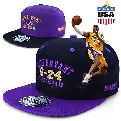 Legend Kobe Bryant baseball cap Snapback hat mamba 24 New Dad