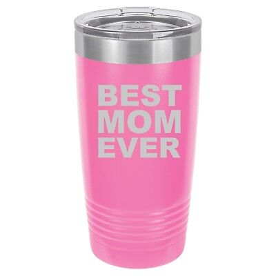 Tumbler 20oz 30oz Travel Mug Cup Vacuum Insulated Stainless Steel Best Mom