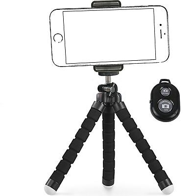 Tripod Mount Stand Phone Holder Small Light For iPhone 7 Plus Withought Remote