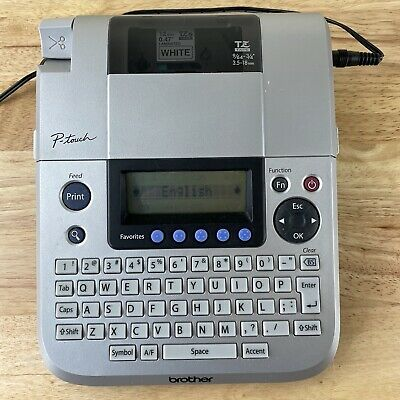 Brother P-touch Pt-1830 Label Thermal Printer Office Labeler W Power Cord Plug