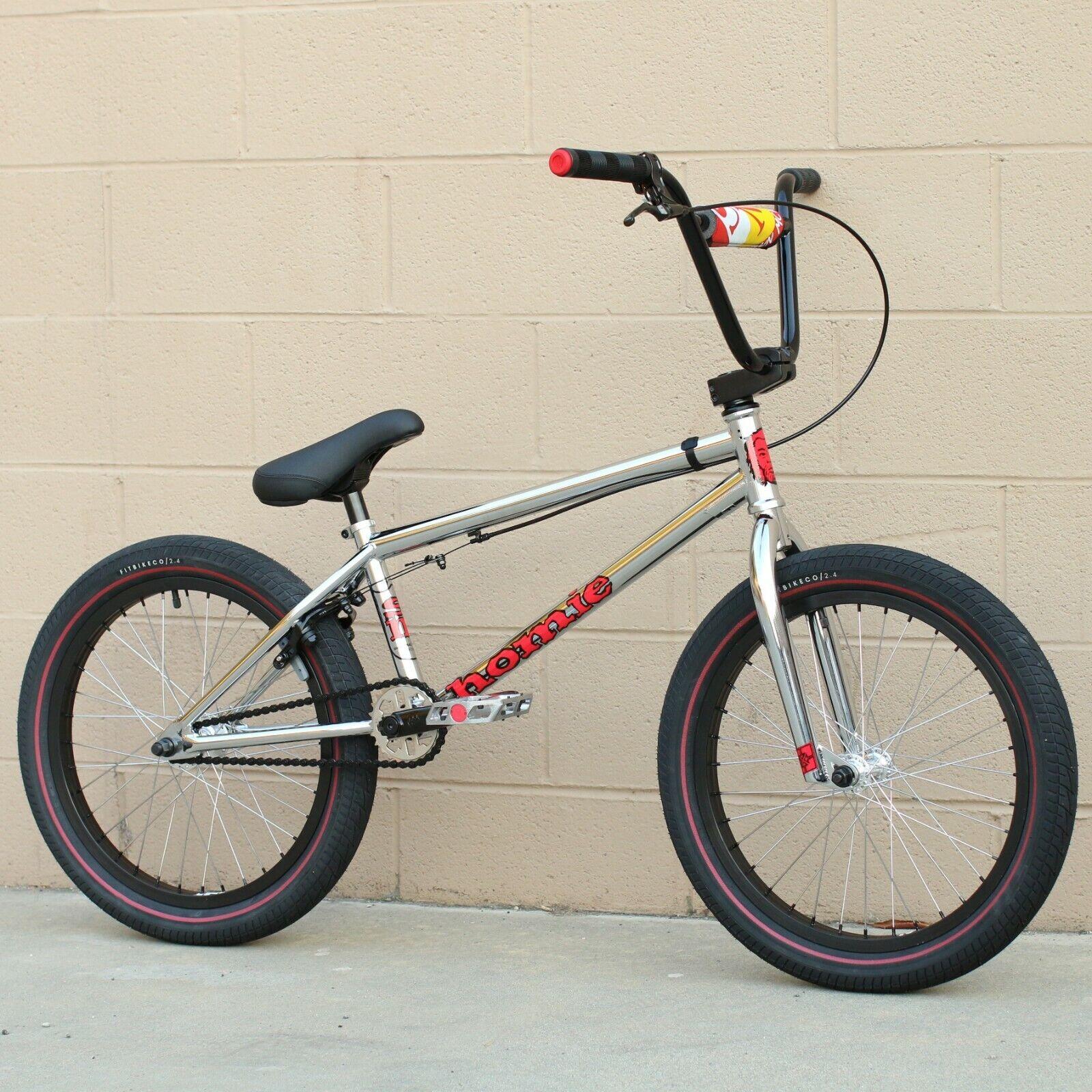"FIT BIKE CO BMX MAC 20"" BICYCLE CHROME SHAWN MAC MCINTOSH"