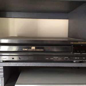 Sony 5 disk carousel cd/CDrw  player CDP-C500