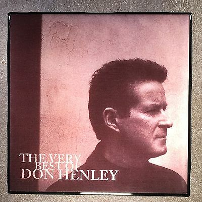 DON HENLEY The Very Best Of Coaster Ceramic Tile Record Cover