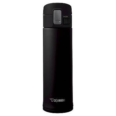 Zojirushi Stainless Steel Vacuum Mug with SlickSteel® Finish - Black, 16...