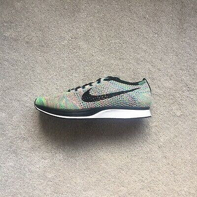 Nike Flyknit Racer | multicolored | UK size 9.5 | New With Box