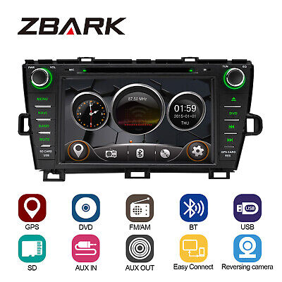 Car DVD Player GPS Radio Player RHD Bluetooth for Toyota Prius Right Hand Drive