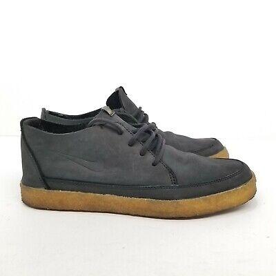 82127f8e C12 Nike SB 6.0 RZOL Chukka Mid Obsidian Black Gum Bottoms Sz 9 454299-400