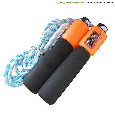 Springseil Sprungseil Speedrope Skipping Rope Seilspringen Hüpfseil mit Zähler