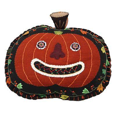 Jack O' Lantern Pumpkin Halloween Pillow Home Decor Primitive Rustic Cute - Cute Halloween Decor