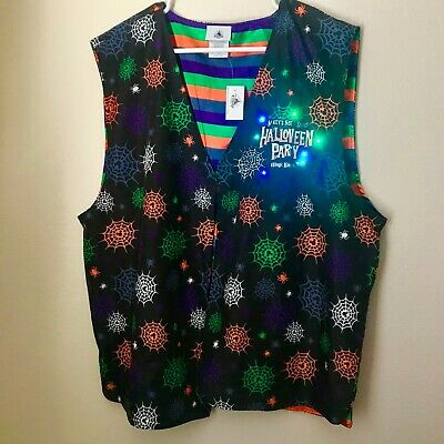 Not So Scary Halloween Party (Disney Parks Mickey's Not So Scary Halloween Party 2019 Light Up Vest L/XL)