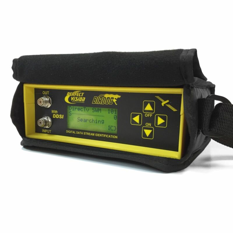 Birdog version 2.5 Satellite Signal Meter Finder Bird dog OEM Case - 2.5