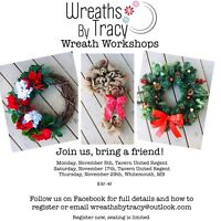 DIY Holiday Wreaths With Wreaths By Tracy. Check This Out!