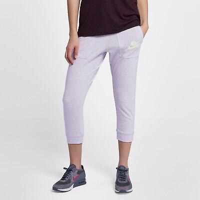 Nike-fitness-studio (Nike Fitnessstudio Vintage Damen Capri S Kaum Weintraube Violett)