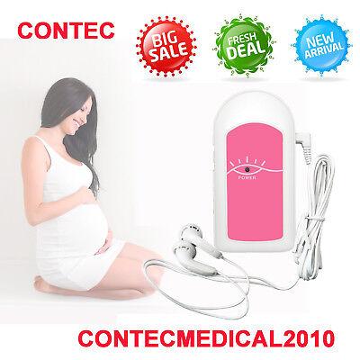 Hot Sale Ultrasonic Fetal Dopplerprenatal Heart Monitorlisten To Babysound