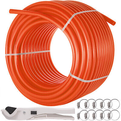 Pex Tubing 12 X 500ft Pipe Oxygen Barrier O2 Evoh Radiant Floor Heat Orange