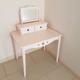 Kids desk and make up mirror very cheap