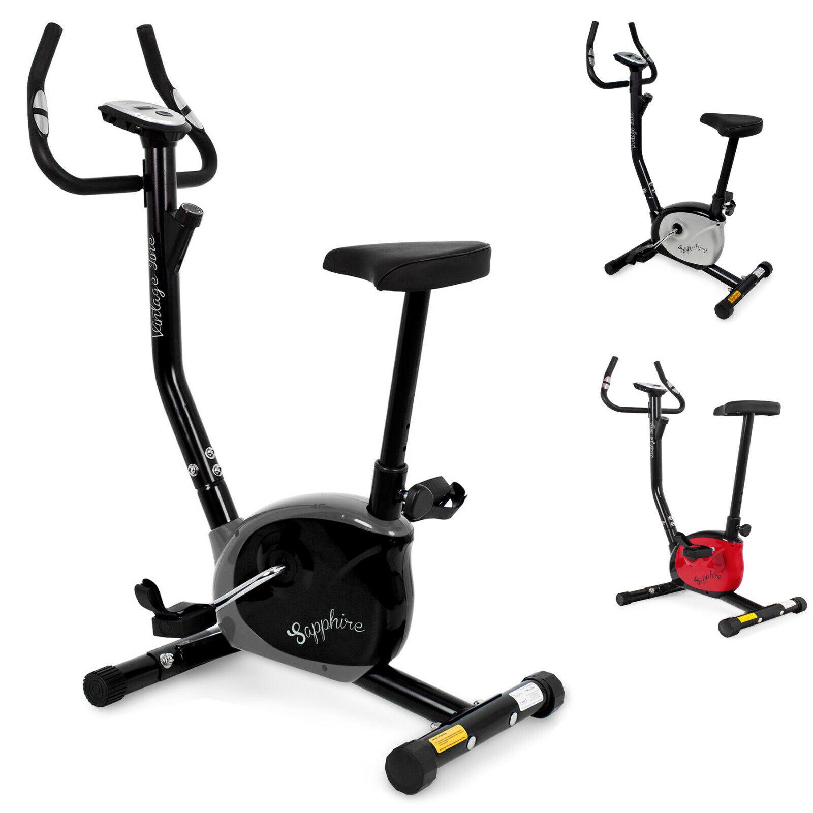 Heimtrainer Fitnessbike Fitnessrad Fahrrad Hometrainer Fitnessgerät Sensoren