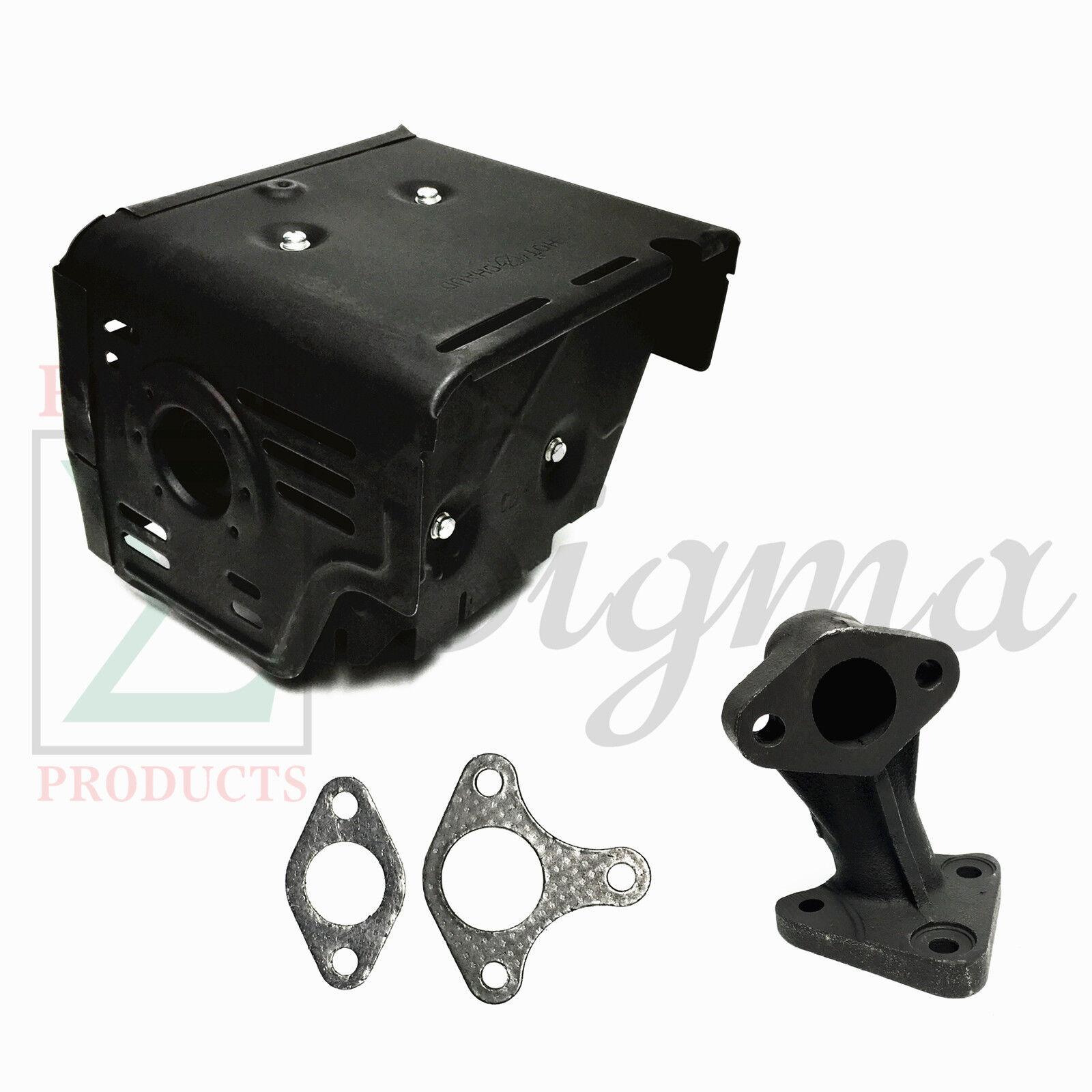 Muffler Exhaust For Generac 6565 4200 PSI 4.0GPM 420cc Gas P