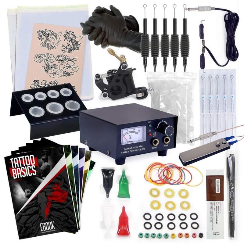 Starter Tattoo Machine Kit - Equipment Set