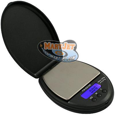FW ES 100g 0.01g Digital Pocket Scale Jewelry Gold Silver Coin Herb Grams Ounces