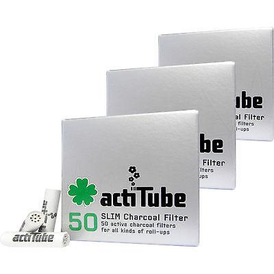3 x 50 = 150 actiTube SLIM Aktivkohlefilter Aktivkohle Filter Tune Slimfilter