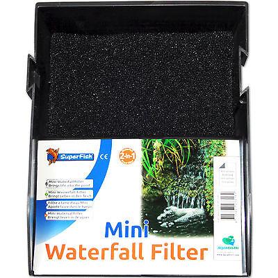 SUPERFISH MINI WATERFALL FILTER - Wasserfall Teichfilter Set Garten Filter klein