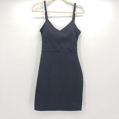 Fabletics black sleeveless little black dress women's size Medium