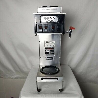 Bunn-o-matic 12 Cup Coffee Maker Commercial3warmer Pressure Or Pour Over