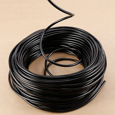 Watering Tubing Hose Pipe 4MM(ID) 6MM(OD) Micro Drip Garden Irrigation System Drip Watering Tubing