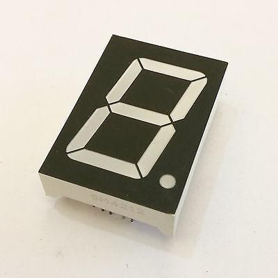Us Stock 4pcs New 1 Inch 7 Segment Red Led Display Common Cathode
