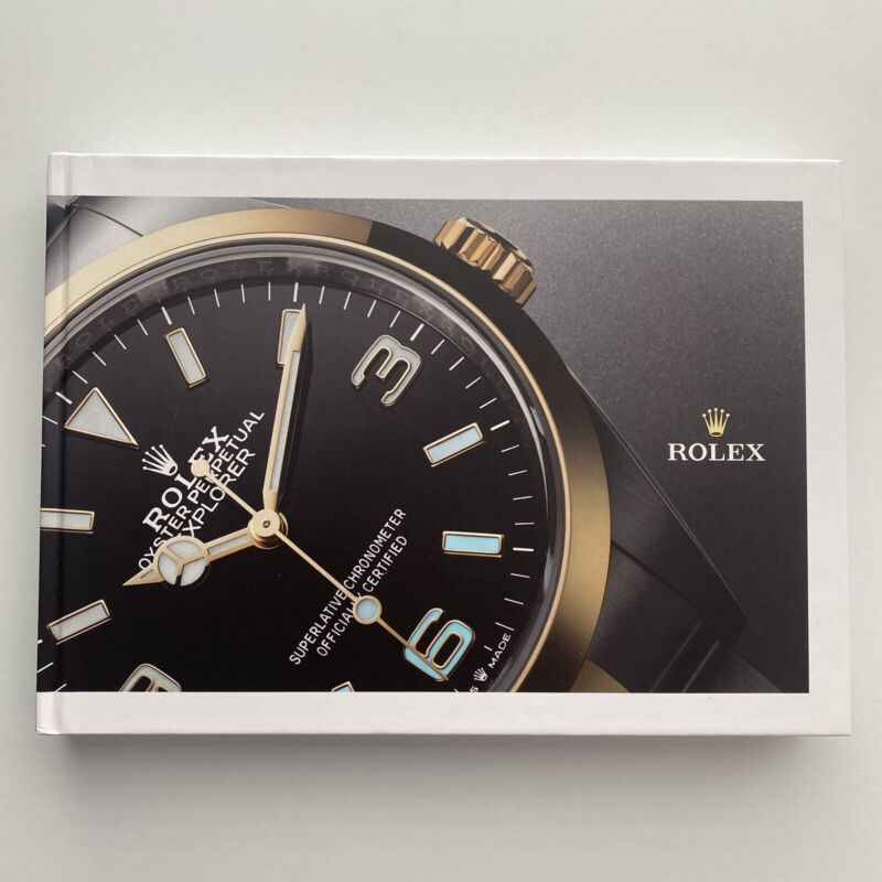 New Rolex Hard Cover Coffee Table Watch Catalog / Book 2021 - 2022