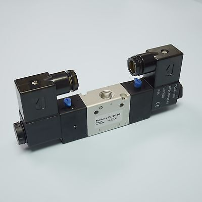14 32 Way Electric Control Solenoid Valve Double Coil 3v220-08-dc24v