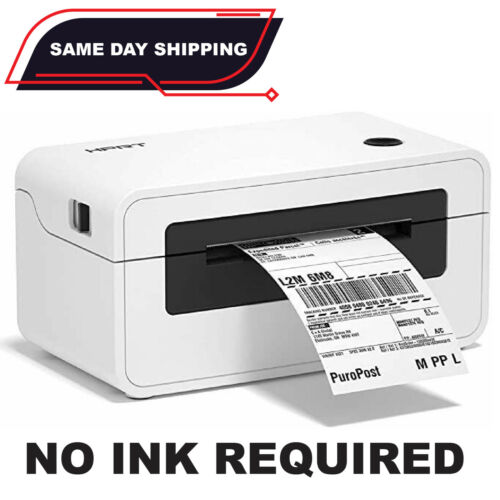 Thermal Shipping Label Printer 150mm/s High-Speed 4x6 Thermal Fit Windows/Mac