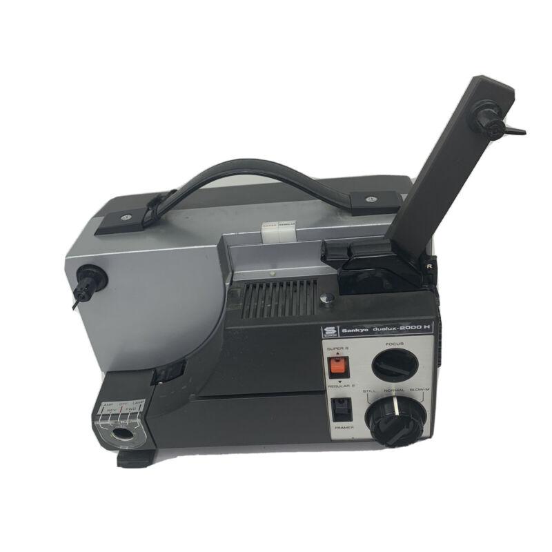 Sankyo Dualux 2000H 8MM & Super 8MM Projector Untested - For Parts Vintage