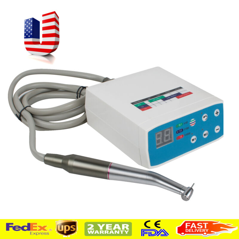 Dental LED Brushless Electric Micro Motor Fit NSK +1:5 Increasing High Handpiece