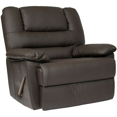 Oversized Recliner Chair Living Room Arm Club Seat Rocker Wide Big Comfort
