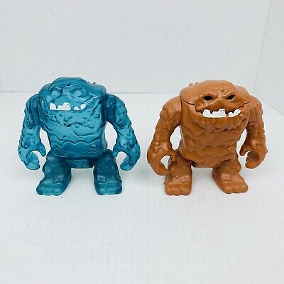 Clayface DC super friends ice blue and regular lot Imaginext Free Shipping