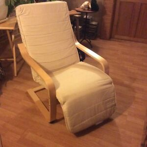Chaise Avec Repose-Pied Inclinable