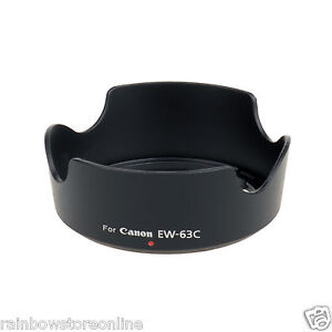 EW-63C EW63C Camera Lens Hood for Canon EF-S 18-55mm f/3.5-5.6 IS STM