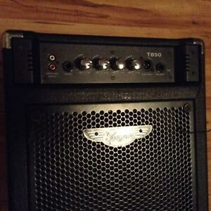 Traynor Tb 50 bass amp $120 obo or bass trade