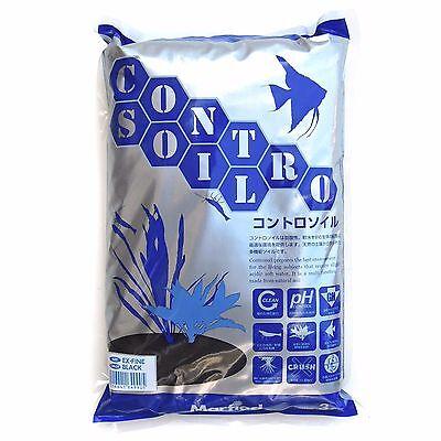 Controsoil Aquarium Plant Soil Black Extra Fine 3L
