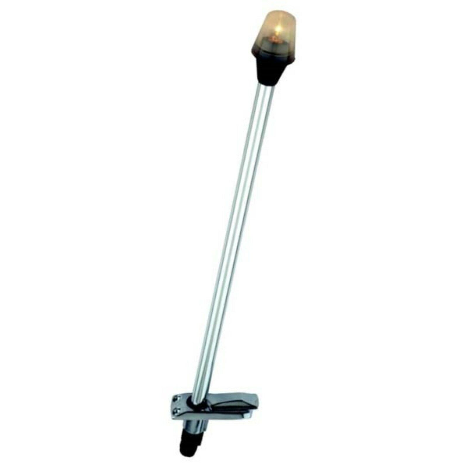 """New Stowaway Pole Light With Plug-in Base attwood Marine 7100b7 Length 30/"""""""