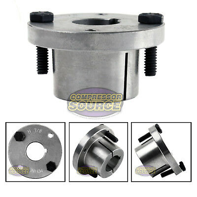 78 Bore H Style Steel Sheave Pulley Bushing Split Taper For Keyed Shaft