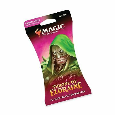 The Gathering Throne of Eldraine Collector Booster | 15 Card Booster Pack | S...