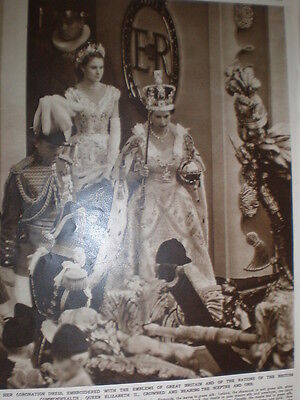 Queen Crown And Scepter (Photo article Queen Elizabeth II crowned leaves abbey with sceptre and Orb)