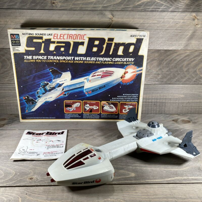 Milton Bradley Electronic Star Bird in Box Tested Works--1978