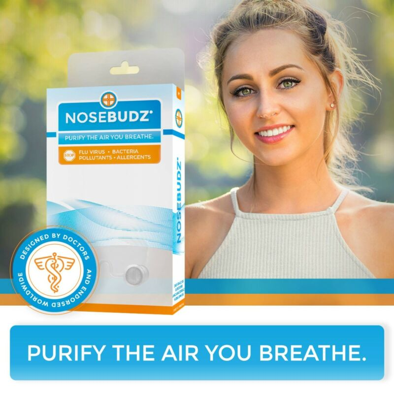 NOSE BUDZ | Illness-preventing air filters | Free Shipping from U.S.