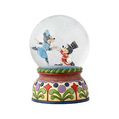 Disney Jim Shore Christmas Mickey and Minnie Nutcracker Waterball New with Box