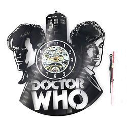 Doctor Who LP Retro Vinyl Record Wall Clock Modern Design Wall Clock Home Decor
