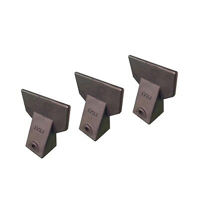 3 - Hensley Style Backhoe Mini Excavator Bucket Flare Tooth - X156f